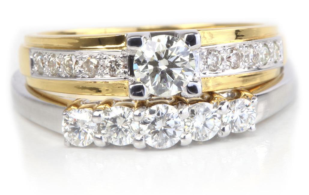 fabulous wedding ring set buy used wedding rings